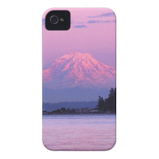 Mt. Rainier at Sunset, Washington State. iPhone 4 Case