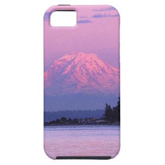 Mt. Rainier at Sunset, Washington State. iPhone 5 Covers