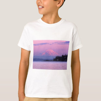 Mt. Rainier at Sunset, Washington State. T-Shirt