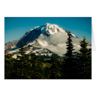 Mt. Rainier at Tolmie Peak Card