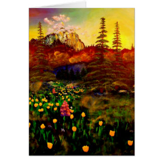 Mt. Rainier Card