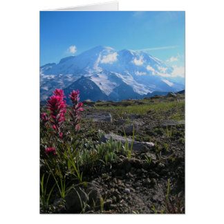 Mt Rainier Card