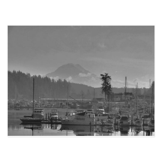 Mt. Rainier from Gig Harbour Postcard