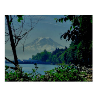Mt. Rainier from Owen Beach Postcard