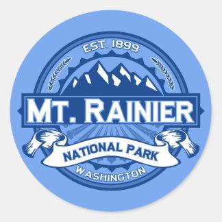 Mt. Rainier Ice Classic Round Sticker