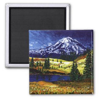 Mt Rainier Magnet