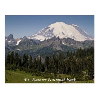 Mt. Rainier National Park Postcard