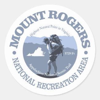 Mt Rogers NRA Round Sticker