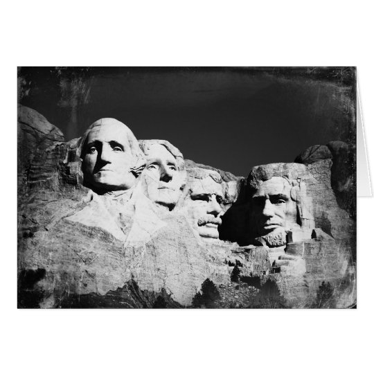 Mt. Rushmore Card