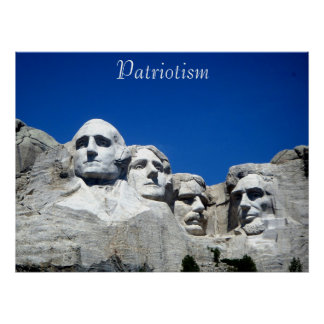 MT Rushmore Poster/Motivational Poster