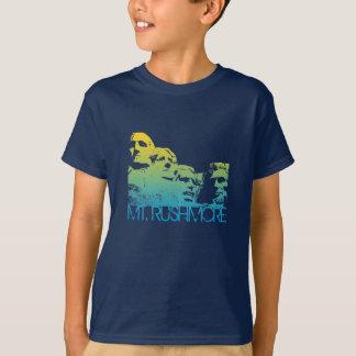 Mt. Rushmore Skyline Design T-Shirt