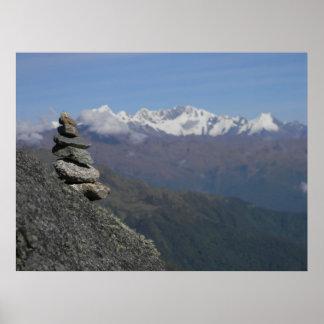 Mt. Salkantay Apichita Poster