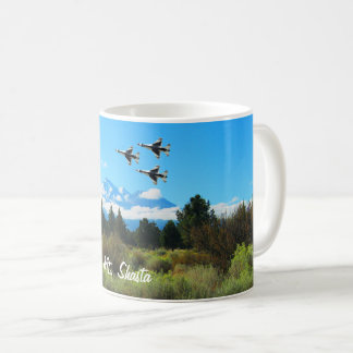 Mt Shasta Blue Angels Coffee Mug