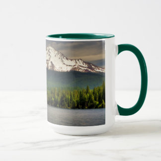 MT SHASTA FROM LAKE SISKIYOU MUG