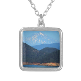 Mt Shasta Silver Plated Necklace