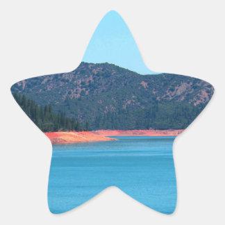 Mt Shasta Star Sticker