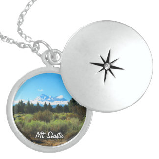 Mt Shasta Sterling Silver Necklace