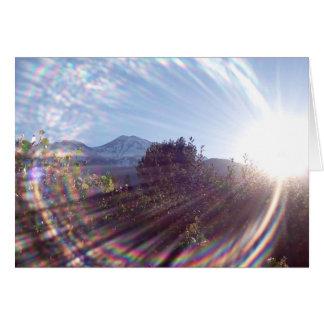 Mt. Shasta Sunrise Card