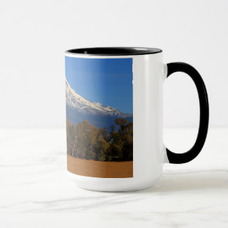 MT SHASTA WITH HORSE AND RIDER MUG