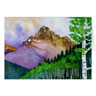 Mt. Sneffels in Summer Card