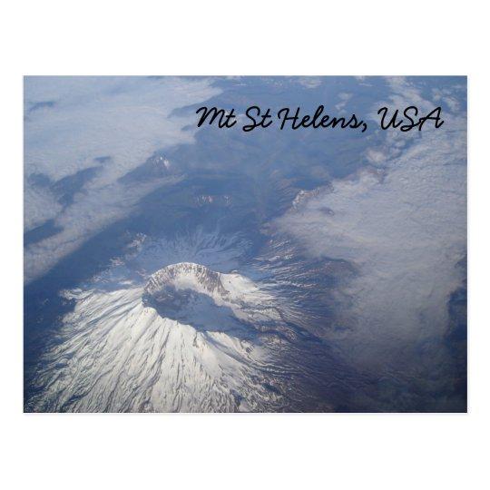 Mt St Helens Postcard