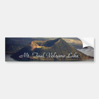 Mt. Taal Lake - Bumper Sicker Bumper Sticker