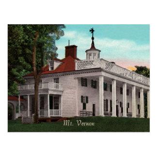 Mt. Vernon Vintage Postcard