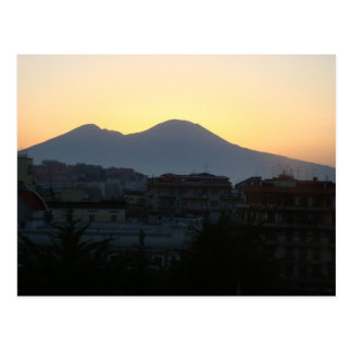 Mt. Vesuvius at Sunrise Postcard