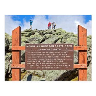 Mt. Washington, New Hampshire Postcard