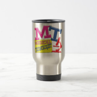 MT WHIMSICAL FUN ACRONYM LETTERS LABORATORY TRAVEL MUG