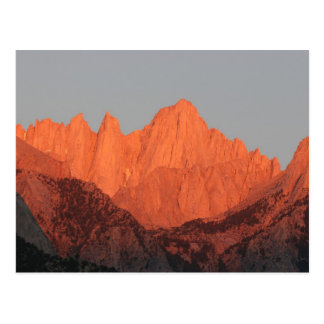 Mt. Whitney at Dawn... Postcard