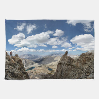 Mt Whitney Trail Over Hitchcock and Guitar lakes 2 Hand Towel