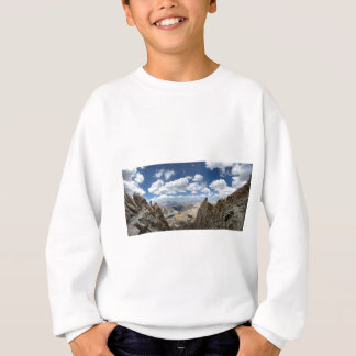 Mt Whitney Trail Over Hitchcock and Guitar lakes 2 Sweatshirt