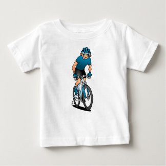 MTB - Mountain biker in the mountains Baby T-Shirt