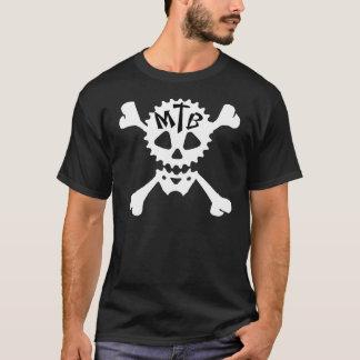 """""""MTB SPROCKET SKULL & BONES"""" T-Shirt"""