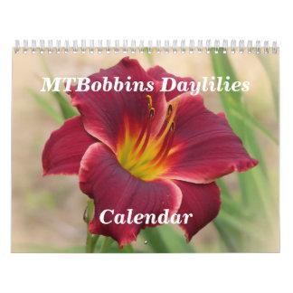 MTBobbins Daylilies - Medium Calendar