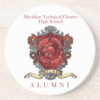 MTCHS Alumni Crest 1 Drink Coaster