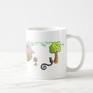 Mtn Cbn Mug~ Classic White Coffee Mug