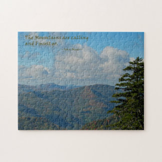 Mtns are calling… / Smoky Mtns Jigsaw Puzzle