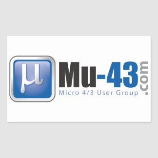 Mu-43 Sticker