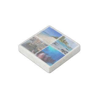 MU Mauritius - Cap Malheureux - Stone Magnets