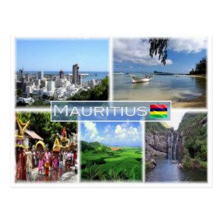 MU Mauritius - Postcard