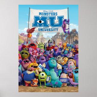 MU Monsters University | Movie Poster