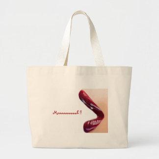 Muaaaaaaaaah !! large tote bag