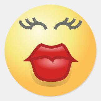 Muah kiss stickers