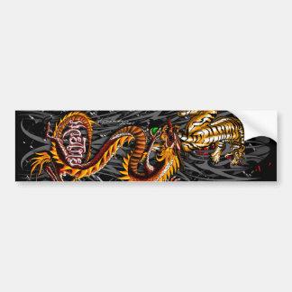 Muay-Thai Bumper Sticker