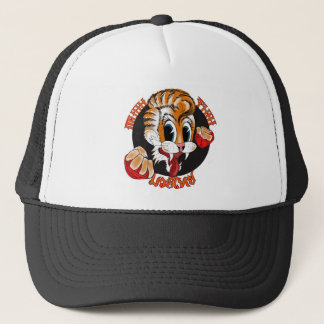 Muay Thai Cat Cap Trucker Hat