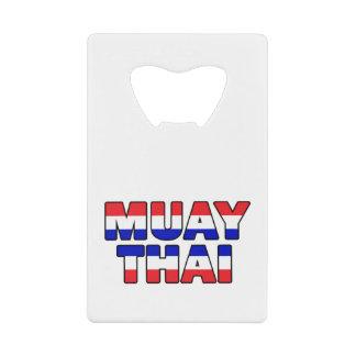 Muay Thai Credit Card Bottle Opener