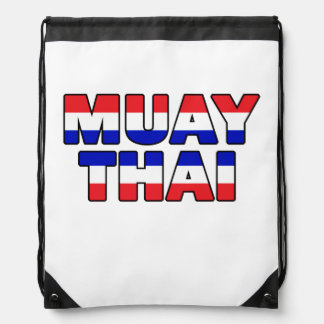 Muay Thai Drawstring Bag