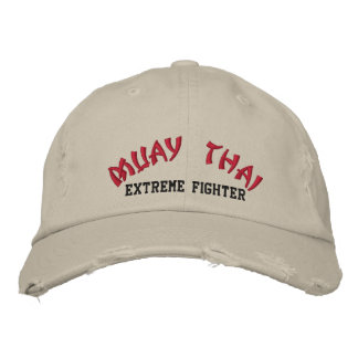 Muay Thai Embroidered Hat
